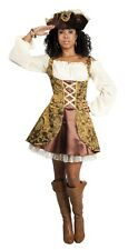 Damen Piraten Kostüm Pirat Piratin Piratenkostüm Costume Pirate   40 42 44 46