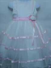 Christening Wedding Flower Girls Pageant Prom Bridesmaid Party Dress, 2-3 Years