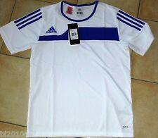 ADIDAS Autheno Trikot Shirt Sweat Kurzarm T-Shirt NEU OVP weiß blau Gr. XS