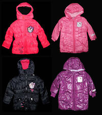 Monster High Hello Charmmy Kitty Winterjacke Jacke Anorak Parka 98 - 152 NEU