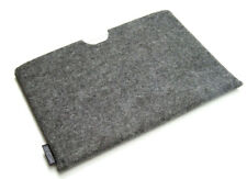 iPad Air felt sleeve case wallet cover. UK MADE. PERFECT FIT. 6 colours.