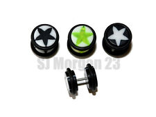 UV 10mm Star Cheater Fake Ear Stretcher Plug. Great Choice of Colours