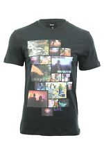 Mens T-Shirt By Bench 'Repetitive Beats' Short Sleeved Graphic Print