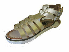 LADIES DOWN TO EARTH SANDAL GOLD 'F0755'