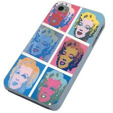 Marilyn Monroe Andy Warhol collage phone case iPhone 4S,5s,5C,Samsung S3 S4 Mini