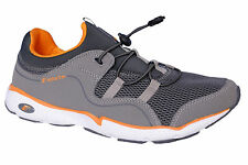 F-SPORTS BRAND NEW MENS FREEMEN GREY,ORANGE CASUAL JOGGING SPORTS SLIPONS SHOES