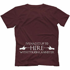 Tyrion Lannister T-Shirt Game Of Thrones Inspired 100% Cotton Imp Dwarf