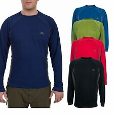 Trespass Alan Men's Thermal Base Layer Long Sleeves Round Neck Top for Winter