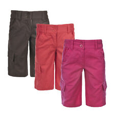 Trespass Friendly Kids Girls Summer Active Travel Long Length Shorts