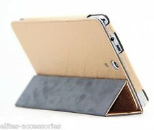 Premium Sleep/Wake Flip Case Cover for HP Slate 7 Voice Tablet (Exclusive Gold)