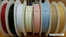 "HERRINGBONE BUNTING TAPE 25MM 1"" 20 OR 50 METER ROLLS OR BY THE METRE 8 COLOURS"