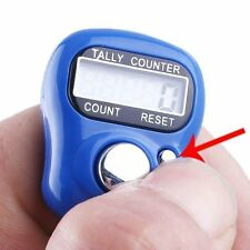 High Quality Tally Counting Digital Machine Finger Watch 5 Digit Tally Counter
