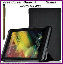 Smart Flip Case Cover for HP Slate 7 Voice Tab Tablet + Screen Guard + G Stylus