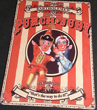 PUNCH JUDY RETRO SMALL,MEDIUM LARGE  VINTAGE STEEL WALL PLAQUE TIN METAL SIGN
