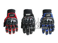 Pro-Biker Riding Gloves - 1 Pair for Bike / Motorcycle / Scooter Riding