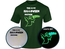 Halloween Costume Glow In The Dark Mens T-Shirt (12 Colours)