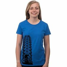 Downhill MTB Mountain Bike Trail Freestyle Off Road Trak Racing Women's T Shirt