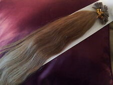 "22""NAIL TIP/U TIP 1G #16 AAAgrade HUMAN HAIR EXTENSIONS UK SELLER,FAST DELIVERY"