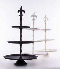 Fleur De Lys Design Cake Stand Muffin Stand Cake Display Stand