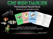 Feis Results Book for Irish Dancing can be personalised