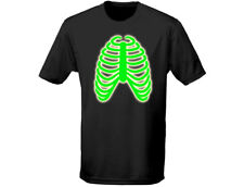 Rib Cage Glow In The Dark Halloween Mens T-Shirt (12 Colours)