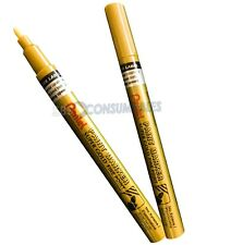 Pentel Permanent Metallic Paint Marker. Gold Or Silver. 3 Tip Sizes Available