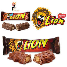 NESTLE LION CHOCOLATES LION ORIGINAL , WHITE , PEANUT 20 CHOCOLATE BARS