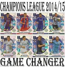 GAME CHANGER Adrenalyn 2014/2015 Champions League Panini card 14/15