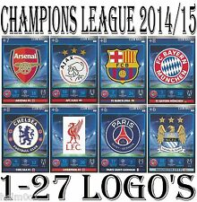 TEAM LOGO / BADGE Adrenalyn 2014/2015 Champions League Panini card 14/15