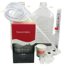 Beaverdale New Starter Wine Kit - 6 Bottle kits - Ingredients & Equipment