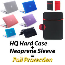 "Matte Hard Case Cover Protection Sleeve Soft Bag For Macbook Pro | Air 11"" 13"""
