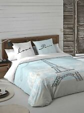 TORRE EIFFEL Funda nordica cama + funda de almohada / Duvet cover+ pillowcase