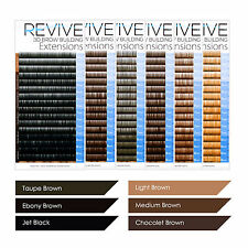 REVIVE Brow Building 0.10 Mix Tray Semi Permanent Individual Eyebrow Extensions