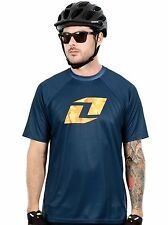 One Industries Icon Navy 2015 Atom Short Sleeved MTB Jersey