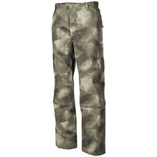 MFH MENS MILITARY COMBAT ACU TROUSERS AIRSOFT HUNTING RIPSTOP PANTS HDT CAMO AU