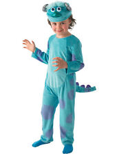 Costume Carnevale Halloween Deluxe Sulley Monsters University Bambino