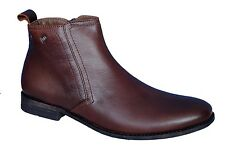 Egoss Brand Mens Brown Hi Ankle Casual Formal Boots Shoes - BP-58
