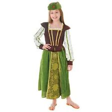 Fantasy Princess Maid Marian Fancy Dress Costume Book Week Fairy Tale Outfit
