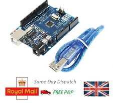 ATmega328P UNO R3 ATmega16U2 and USB Cable for Arduino - UK Seller