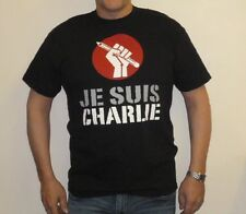 JE SUIS CHARLIE T-Shirt - I Am Charlie - France Support (JS1)
