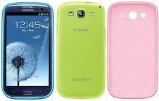 Genuine Samsung Protective TPU Case Cover Sleeve  Samsung Galaxy S3 i9300 i9305