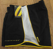 NEW  Nike Shorts Livestrong womens tempo running cycling shorts L M S XS       4
