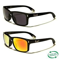 New Black Wayfarer Vintage Retro Mens Ladies Unisex Mirrored Sunglasses UV400