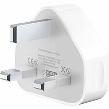 UK MAINS USB PLUG CHARGER ADAPTER FOR iPhone 4 4s 5 iPod Samsung HTC