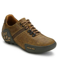 WOODLAND ORIGINAL MENS 580108 CAMEL ADVENTURE CASUAL LACED FLAT SHOES SALE