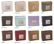 1800 Count Deep Pocket 4 Piece Bed Sheet Set Clara Clark - 12 colors available