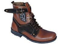 Rado Mens Hi Ankle Brown Casual Boots Shoes - Cod Available