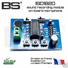 ISD1820 sound module with micro multiwii STM32 Arduino PI Pro FR exp J+010236
