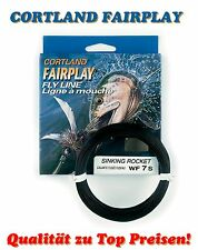 CORTLAND FAIRPLAY FLY LINE Fliegenschnur WF 5 6 7 8 S SINKING ROCKET TAPER