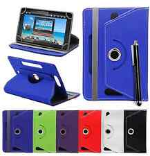 """360 Universal Leather Stand Case Cover For All Android Tab Tablet 7"""" 8"""" 10"""""""